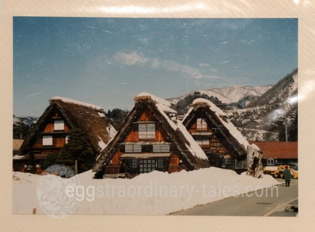 photo of Shirakawa-go houses