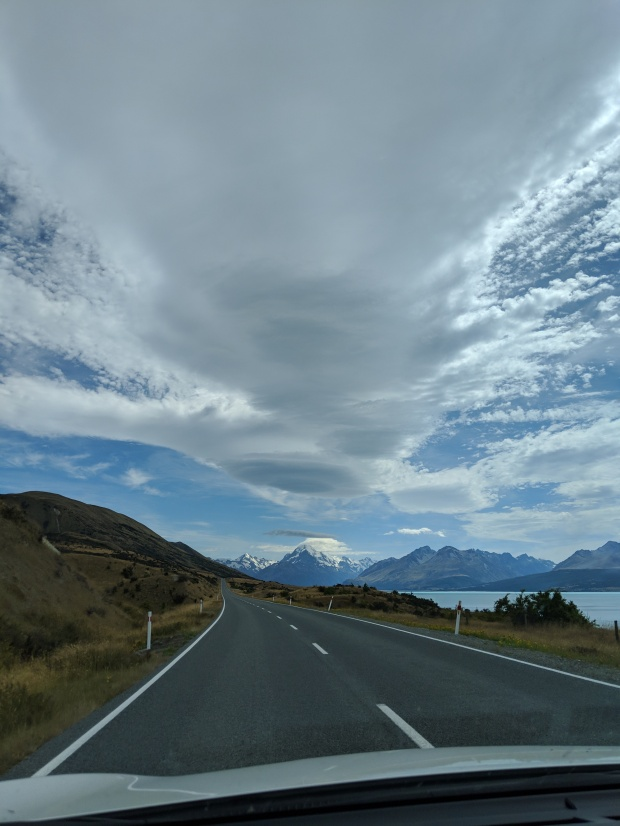 Clouds over Mount Cook