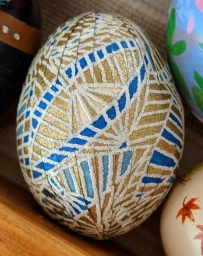 original wrapped egg
